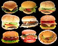 hamburger valasztek